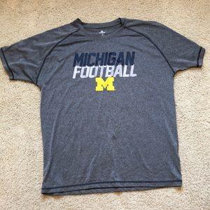 LIKE NEW! Michigan Football T-Shirt